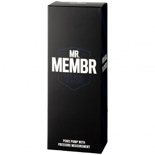 Mr. Membr Penis Pumpe med Trykmåler Pack 90
