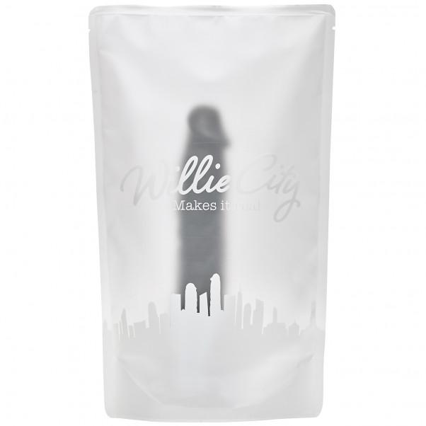 Willie City Lover Realistisk Sugekop Dildo 23 cm  5