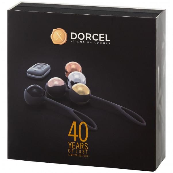 Marc Dorcel Fjernbetjent Bækkenbundskugle Sæt med Vibrator billede af emballagen 100