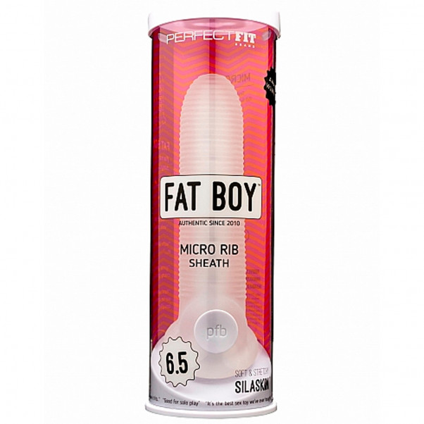 Perfect Fit Fat Boy Micro Ribbed Large Penis Sleeve  4