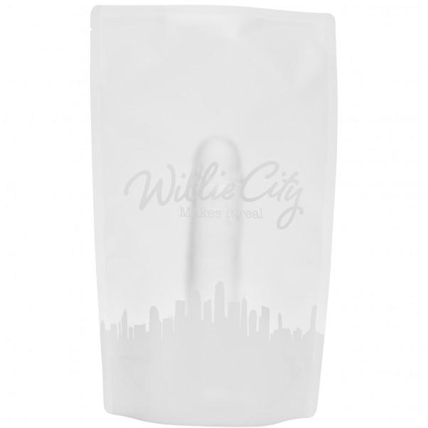 Willie City Realistisk Klar Dildo med Sugekop 22 cm  5