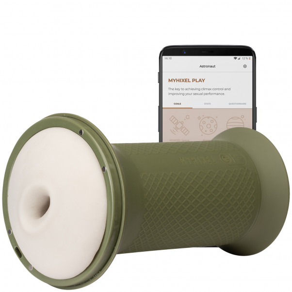 MYHIXEL TR App-styret Trænings Masturbator billede af emballagen 1