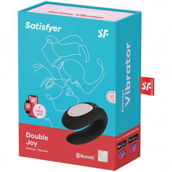 Satisfyer Double Joy App-Styret Par Vibrator billede af emballagen 100