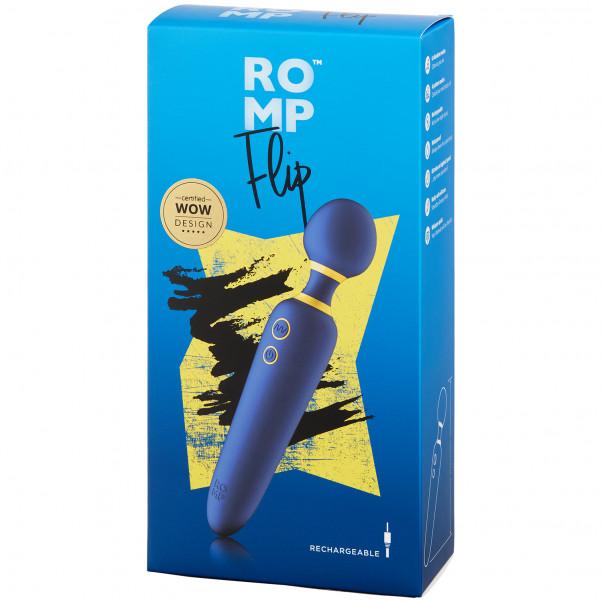ROMP Flip Wand Vibrator billede af emballagen 90