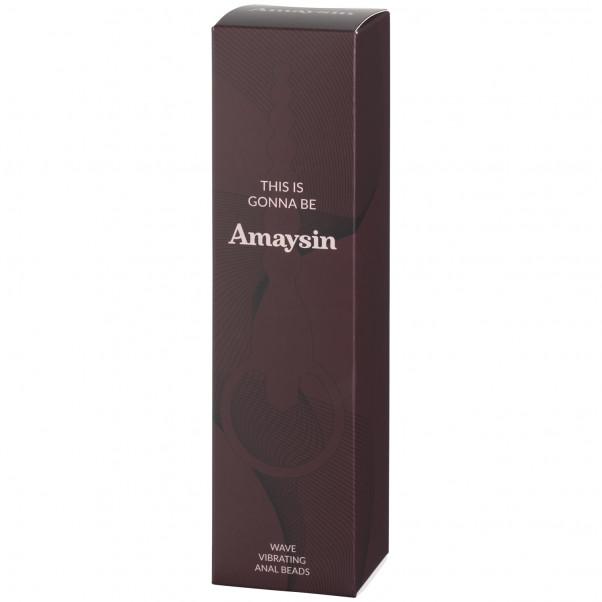 Amaysin Wave Vibrerende Analkæde Emballagebillede 90