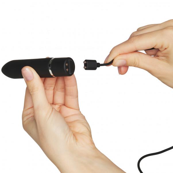 NEW - Sinful Silky Bullet 10 Funktions Vibrator Opladelig håndbillede 50