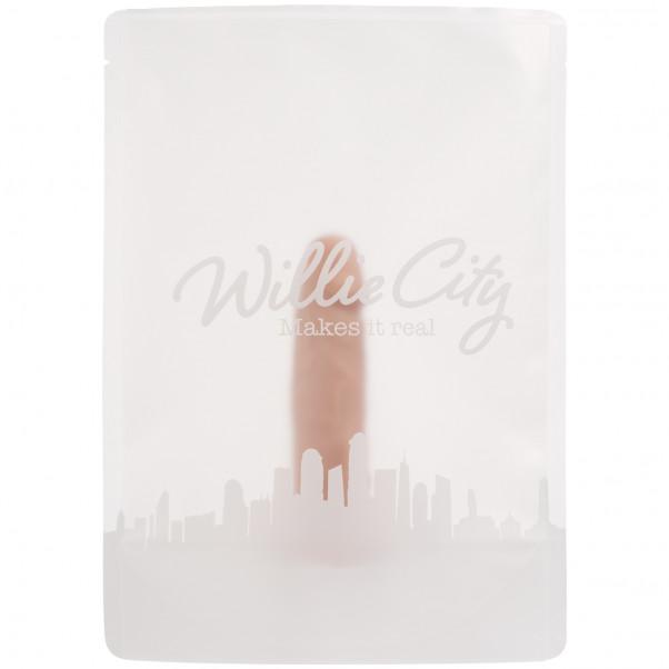 Willie City Realistisk Dildo med Sugekop 13 cm billede af emballagen 90