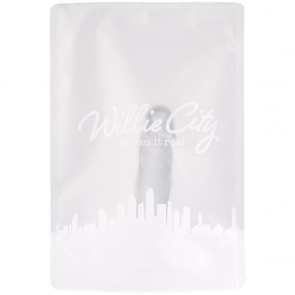 Willie City Klar Realistisk Dildo med Sugekop 15 cm 90
