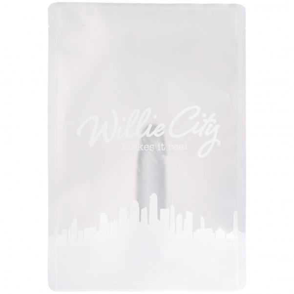 Willie City Klar Realistisk Dildo med Sugekop 13 cm 90
