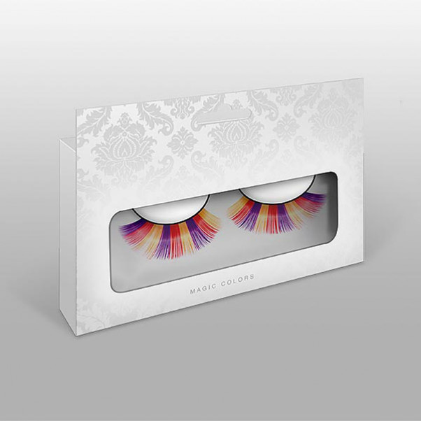 Øjenvipper i flere farver