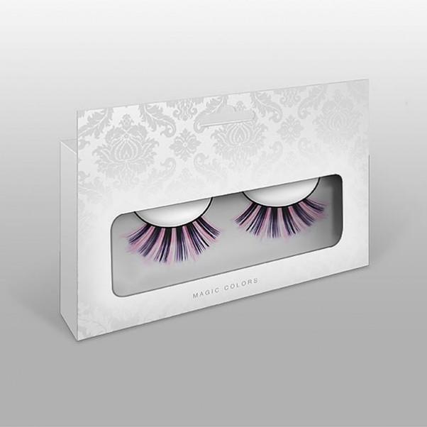 Lyserøde Kunstige Øjenvipper