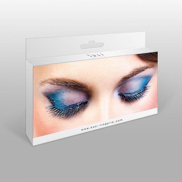 Øjenvipper blå
