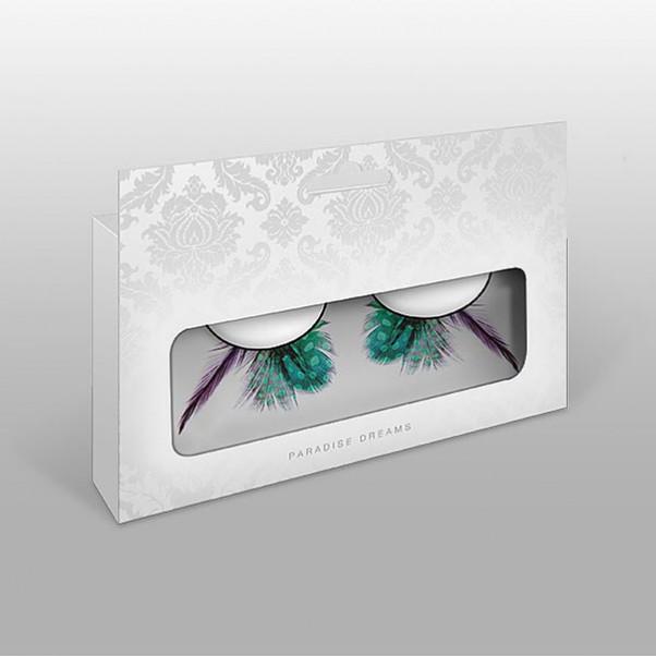 Kunstige Grønne Øjenvipper
