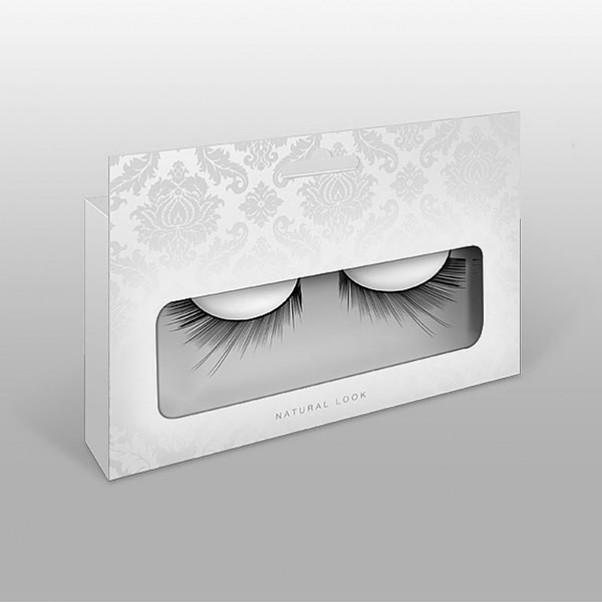 Sorte falske øjenvipper
