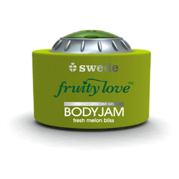 Swede BodyJam Glidecreme Med Smag 150 ml.