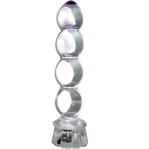 Lysende Glas Dildo