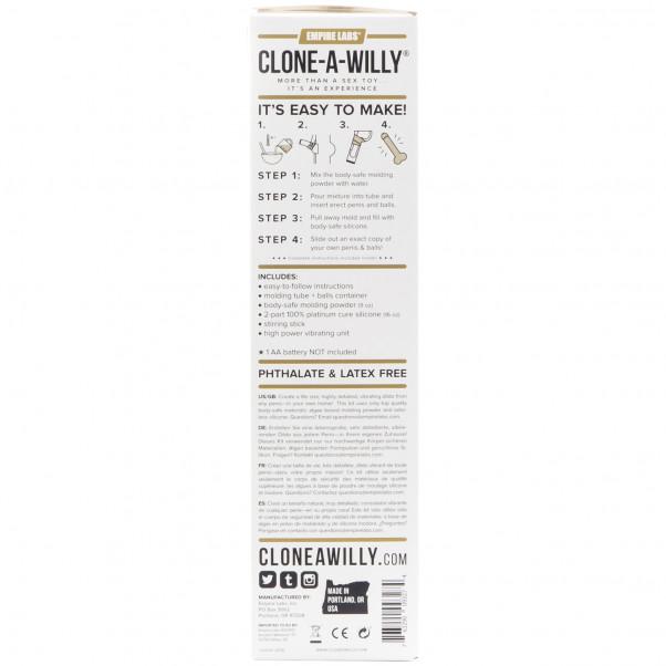 Clone-A-Willy Plus Balls Klon Din Penis  billede af emballagen 91