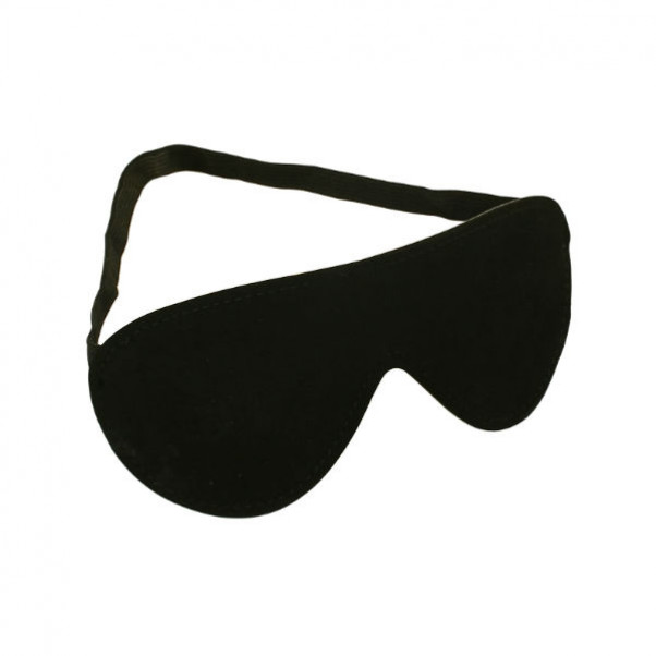 Sort Læder Blindfold