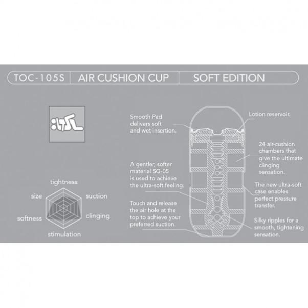 TENGA Air Cushion Cup Soft