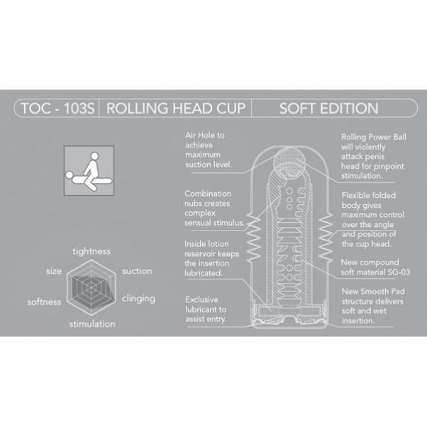 TENGA Rolling Head Cup Soft
