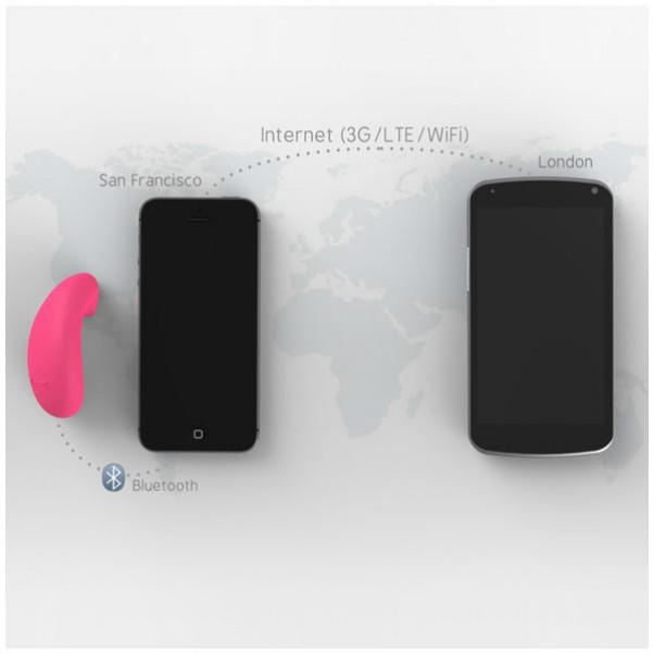 Vibease App-styret Trådløs Vibrator til langdistance sex