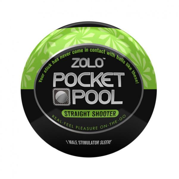 Zolo Pocket Pool Straight Shooter Onani Håndjob  1