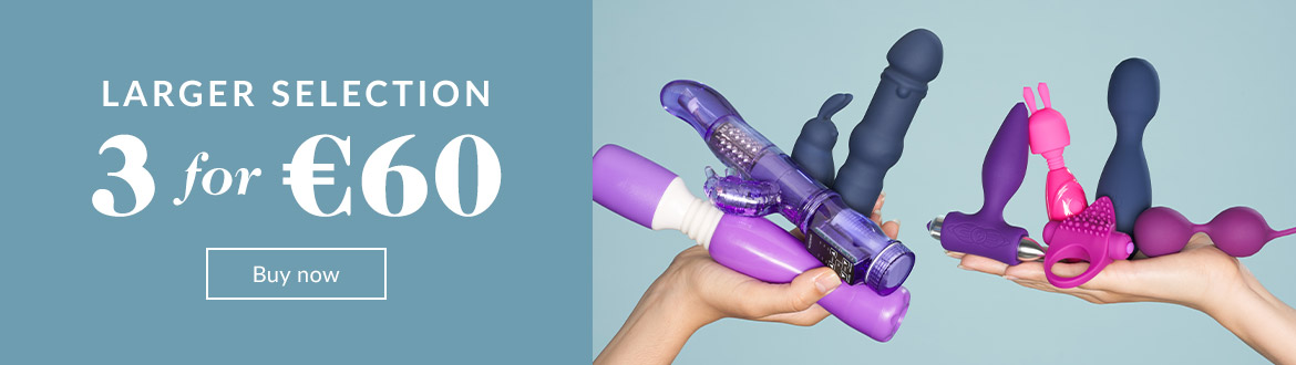 Sex toys - 3 for 60€