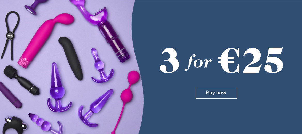 Sex toys - 3 for 25€