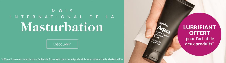 Sex toys - Mois International de la Masturbation