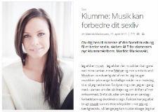 Musik Kan Forbedre Dit Sexliv - Klumme af Mathilde Mackowski