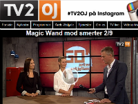 TV2 Østjylland: Magiv wand mod smerter