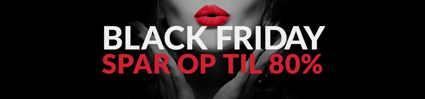 Black Friday - spar op til 80% på populært sexlegetøj