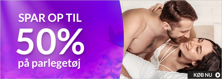 Sexlegetøj til par: Spar op til 50%