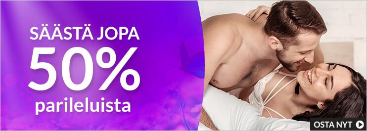 Seksilelut pareille: Säästä jopa 50%