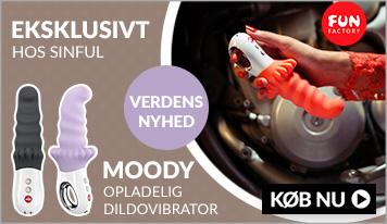 Fun Factory Moody - Vibrator dildoen