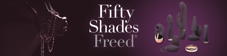 Fifty Shades Freed Sex Toys at Sinful.eu