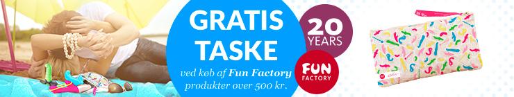 Fun Factory gratis taske