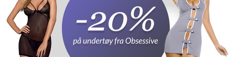 20% på Obsessive