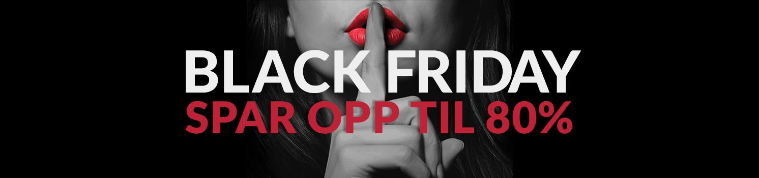 Black Friday - spar opp til 80% på populært sexleketøy