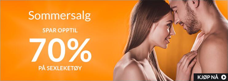 Sexleketøyssalg - Spar opp til 70%