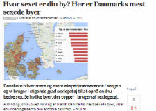 Dagens.dk: Her er Danmarks mest sexede byer
