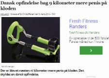 Dansk opfindelse bag 9 kilometer mere penis på kloden – Dagens.dk