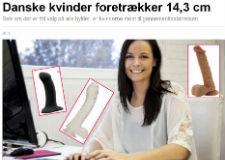 Ekstrabladet.dk: Danske kvinder foretrækker 14,3 cm