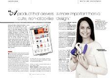 EAN online: An interview with Mathilde Mackowski