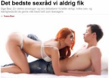 Det bedste sexråd vi aldrig fik – Ekstrabladet.dk