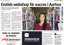 Erhvervsavisen Østjylland: Erotisk webshop får succes i Aarhus