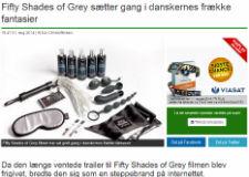 Newsbreak.dk - Fifty Shades of Grey sætter gang i danskernes frække fantasier