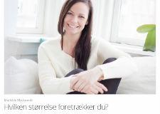 Mathildes Mackowski: Hvilken størrelse foretrækker du? Klumme på ALT for Darmerne