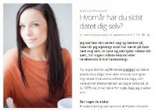 ALT for Damerne: Hvornår har du sidst datet dig selv? Artikel af Mathilde Mackowski