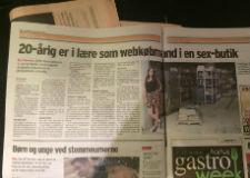 Stiften.dk: 20-årig i lære som webkøbmand i en sexbutik